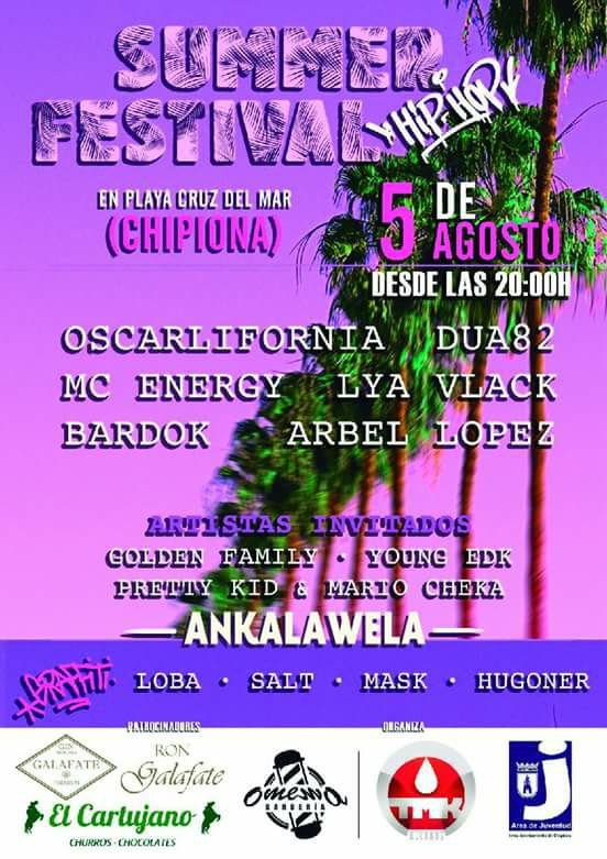 2017 Summer Festival Hip Hop (Chipiona)